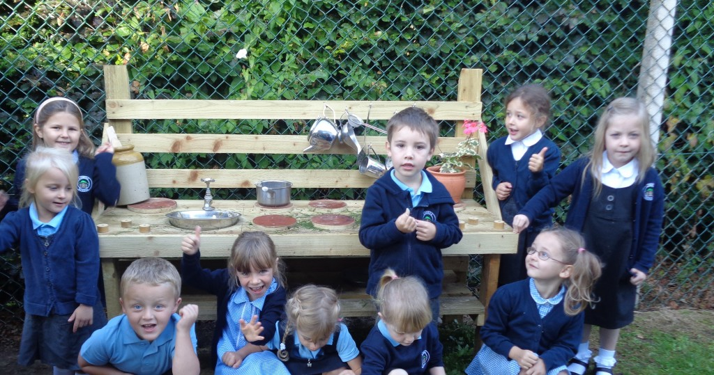 Mud Kitchen September 2015